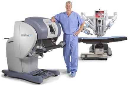 Sistemul chirurgical da Vinci - chirurgie robotica