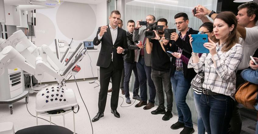 Reportaj TVR – Inaugurarea centrului de pregătire ISLE la București